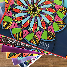 Join our coloring book club!