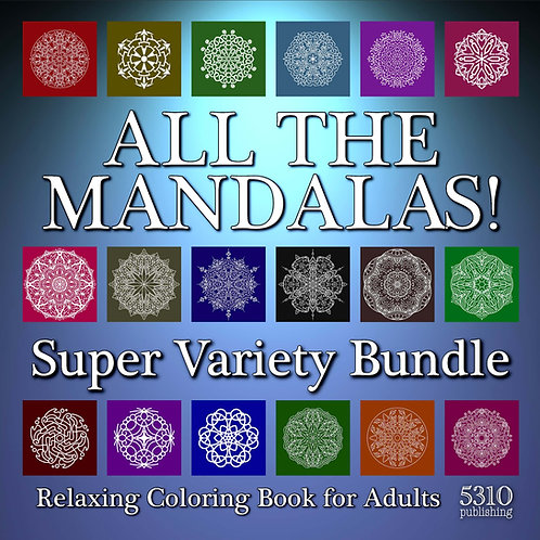All The Mandalas! Super Variety Bundle