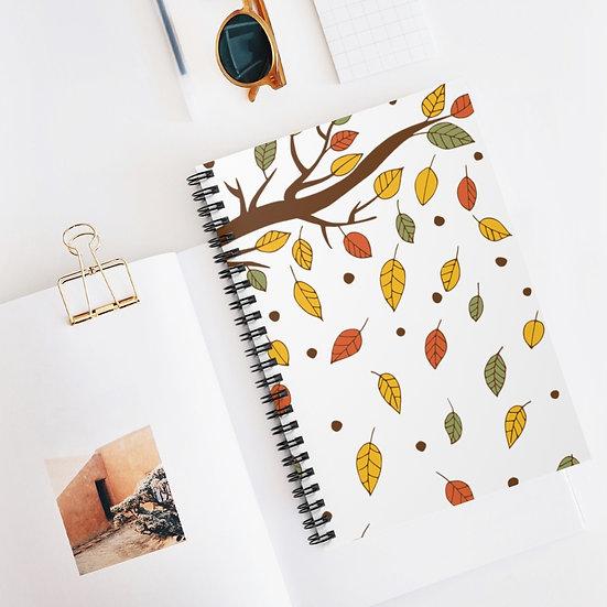 Fall Tree White