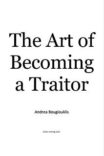 The Art of Becoming a Traitor (2022)