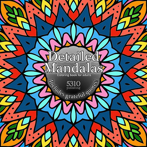 Detailed Mandalas