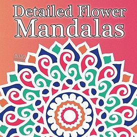 Detailed Flower Mandalas
