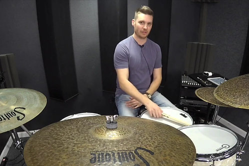 1/8 Note Bass Drum Grooves (4 Lessons)