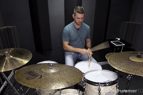1/16 Note Bass Drum Grooves Course (4 Lessons)