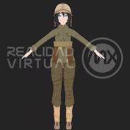 Army Girl WWII
