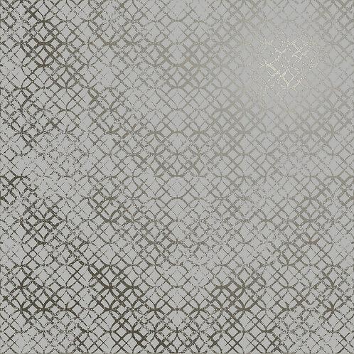 Керамогранит Etro Metal Light Grey 60 × 60 см