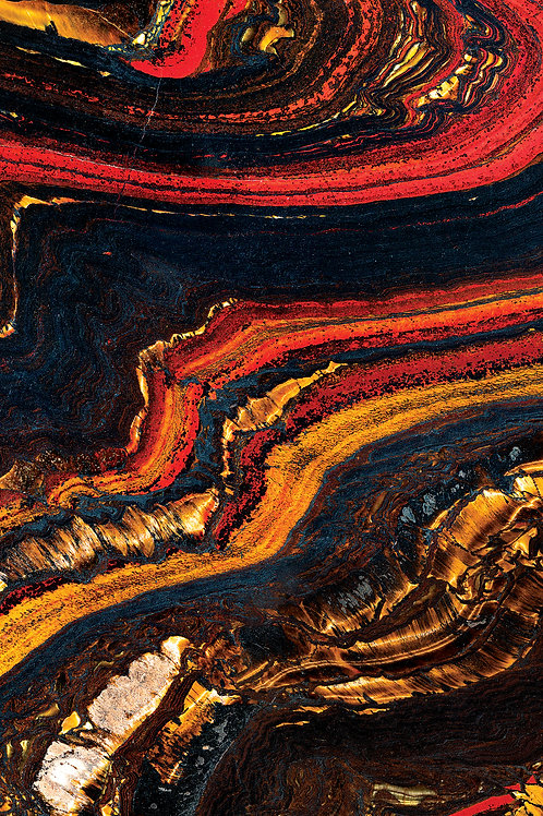 Стеклянная плитка Vetrite Magma 120*280 см