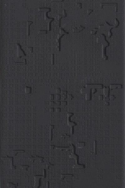 Керамогранит Cloud Relief Nero 18 × 54 см