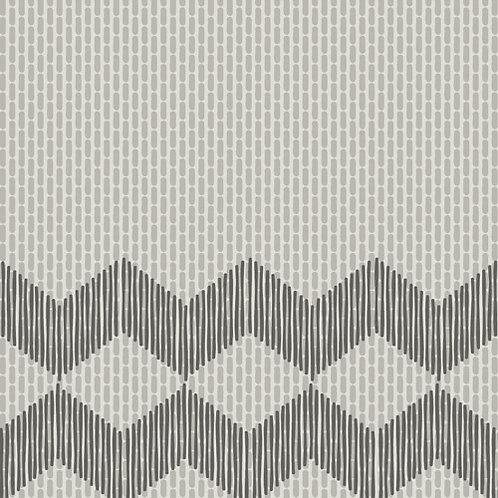 Керамогранит Tape Zigzag half white 20,5 × 20,5 см