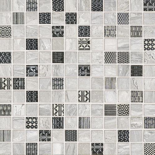 Мозаика Mosaico Gemstone White Dec.  29,1 × 29,1 см