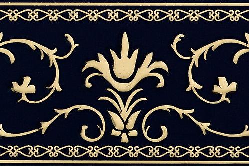 Бордюр Narciso B Su Blu Royal 20 × 20 см