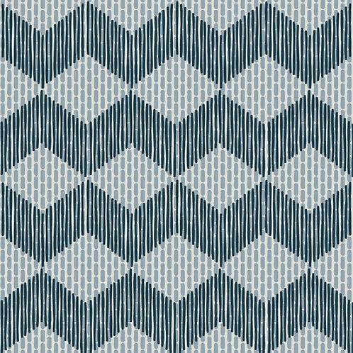 Керамогранит Tape Zigzag blue 20,5 × 20,5 см