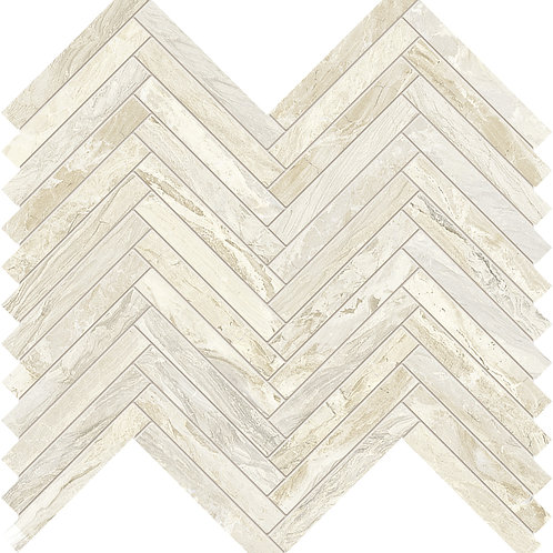 Мозаика Lisca Gemstone Ivory Rett 33 × 35 см