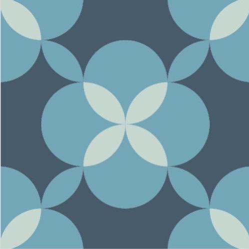 Цементная плитка Dal Bianco Eden Pacific_Q 20 × 20