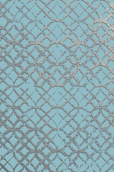 Керамогранит Etro Metal Celeste 20 × 60 см