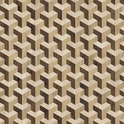 Керамогранит Soul Mosaico Rolo Nat/Ret  19 × 22 см