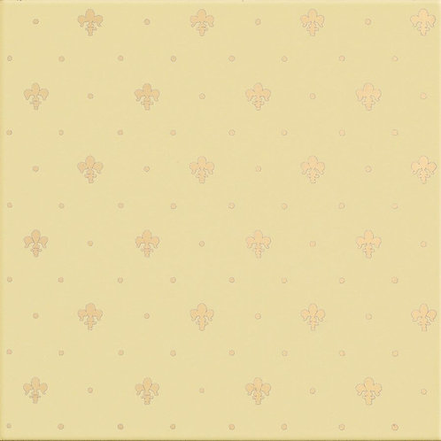Керамическая плитка Giglio Oro Su Crema 20 × 20 см