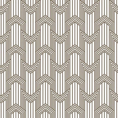Керамогранит Geometria ottone su fondo bianco matt  60*60 см