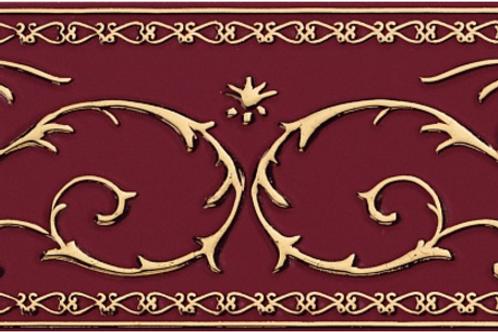 Бордюр Narciso A Su Bordeaux 20 × 20 см