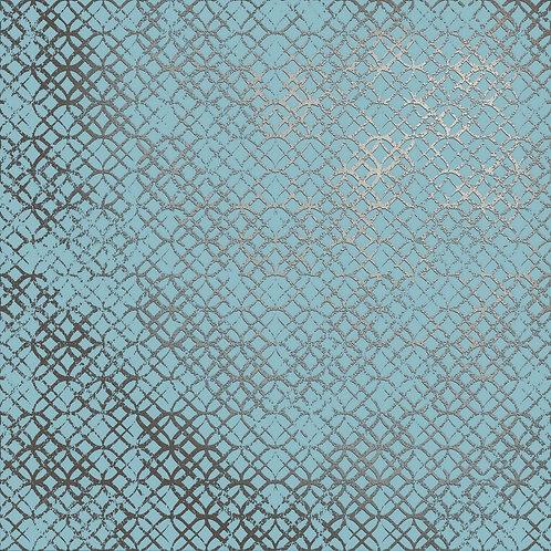 Керамогранит Etro Metal Celeste 60 × 60 см