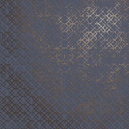 Керамогранит Etro Metal Blue 60 × 60 см