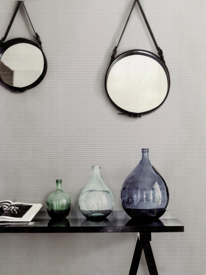 Linea Rombo white table mirrors