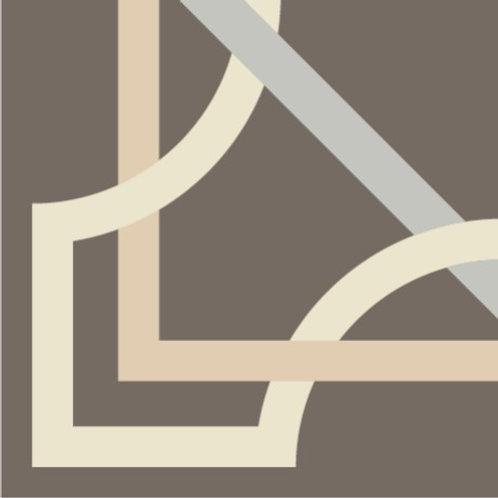 Цементная плитка Dal Bianco Tapis Onice_Q 20 × 20