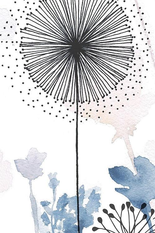 Керамогранит I Decorativi Jardin Blue 1 100 х 300 см
