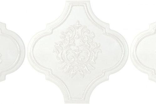 Керамогранит ARABESQUE Satin Dec Arabesque Talco 14,5 × 14,5 см
