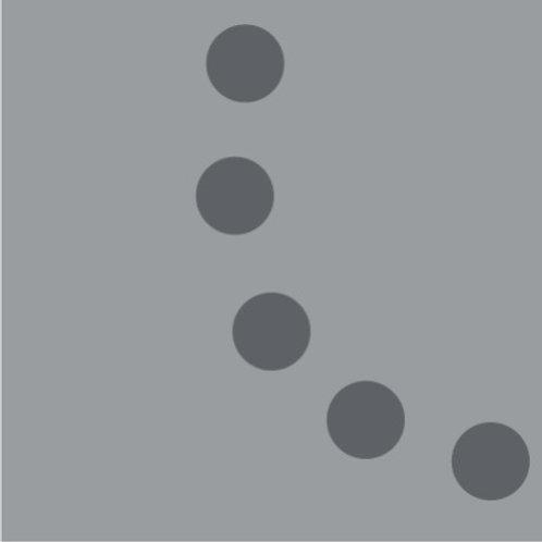 Цементная плитка  Perlas Humo_Q 20*20 см