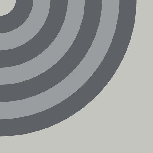 Цементная плитка Duct Grey B Q  20*20 см