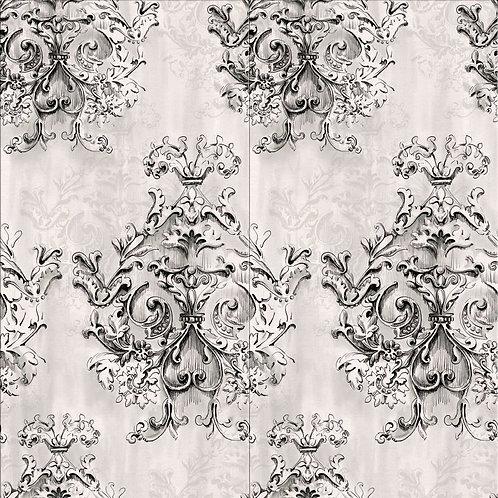 Декор Canvas Arabesque Grey rett. 60 х 120 cm