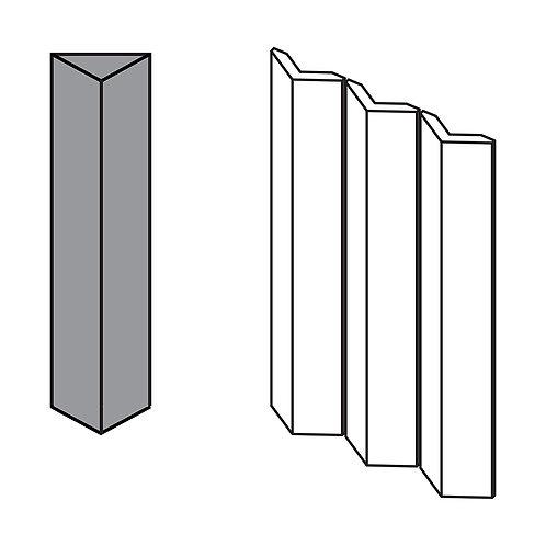 Декор Rombini Triangle Large Grey 18,6 × 31,5 см