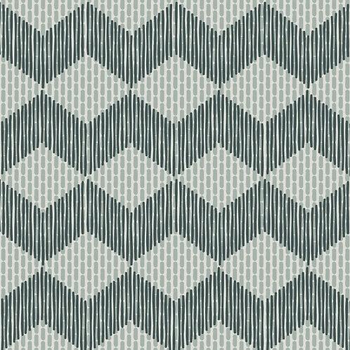 Керамогранит Tape Zigzag green 20,5 × 20,5 см