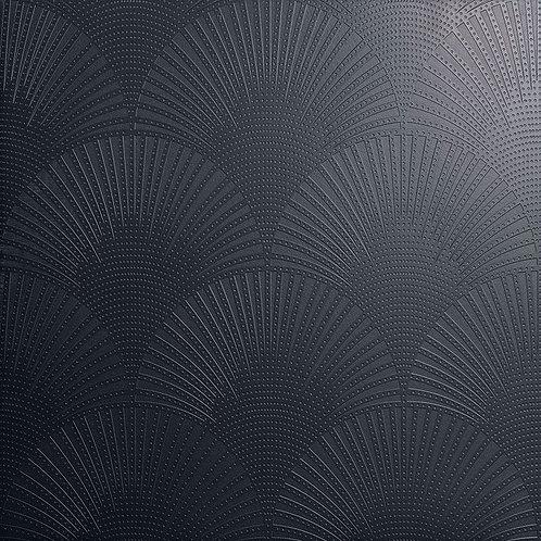 Керамогранит Pavone nero su fondo nero matt  60*60 см