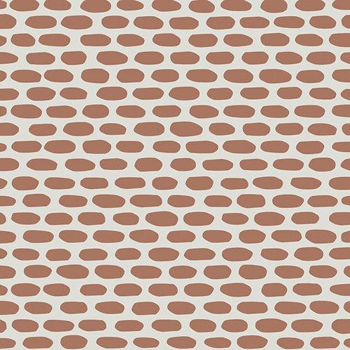 Керамогранит Tape Cobble brown 20,5 × 20,5 см