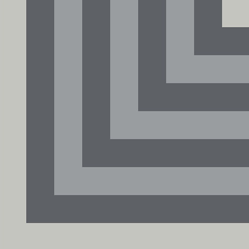 Цементная плитка Pipe Corner Grey Q Q  20*20 см