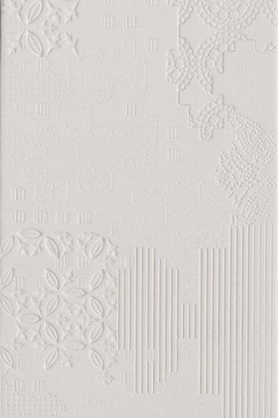 Керамогранит Patchwork Relief Bianco 18 × 54 см