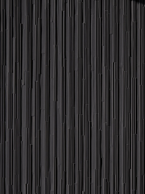 Мозаика (керамогранит) Mosaico Rain A Nero 30 × 39,5 см