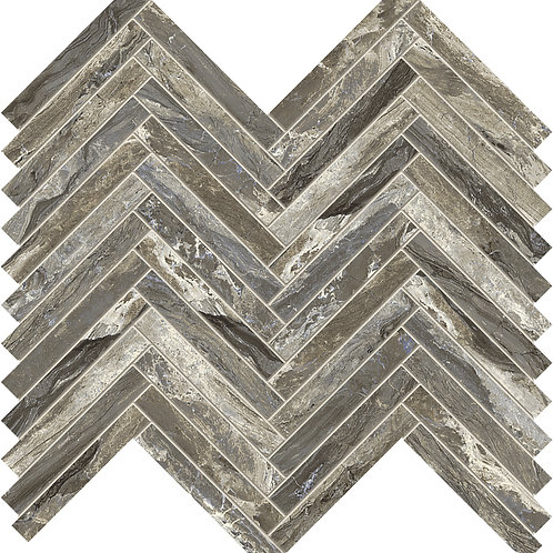Мозаика Lisca Gemstone Taupe Rett 33 × 35 см