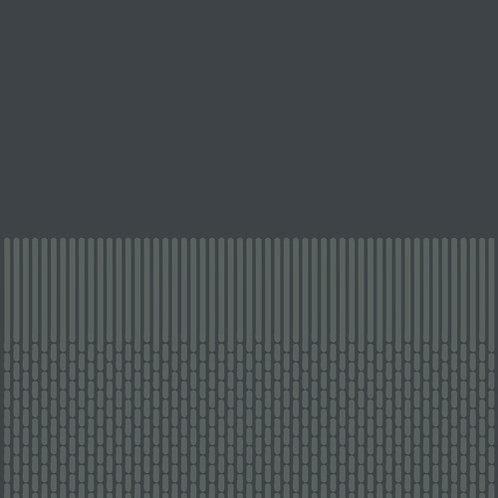 Керамогранит Tape Grainy half black 20,5 × 20,5 см