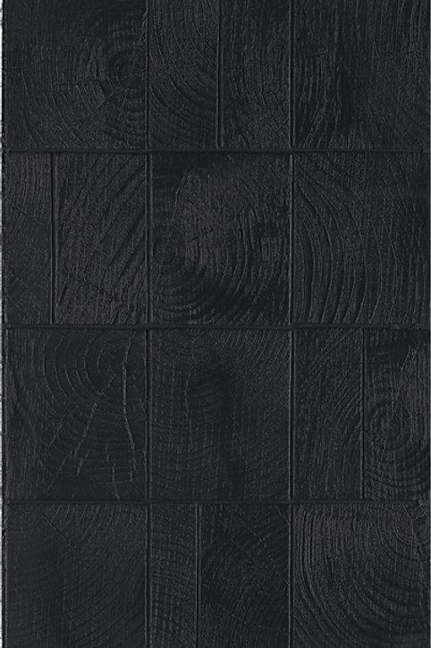 Керамогранит Loop Black Mix sizes - 7,5x14 - 5,5x14 - 3,5x14