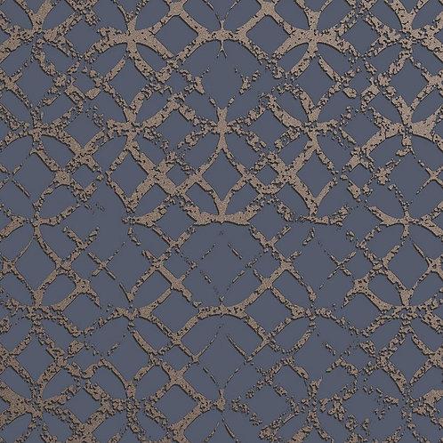 Керамогранит Etro Metal Blue 20 × 20 см