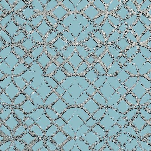 Керамогранит Etro Metal Celeste 20 × 20 см