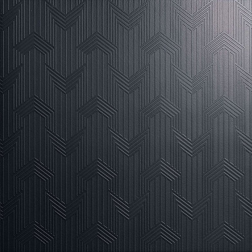 Керамогранит Geometria nero su fondo nero matt  60*60 см