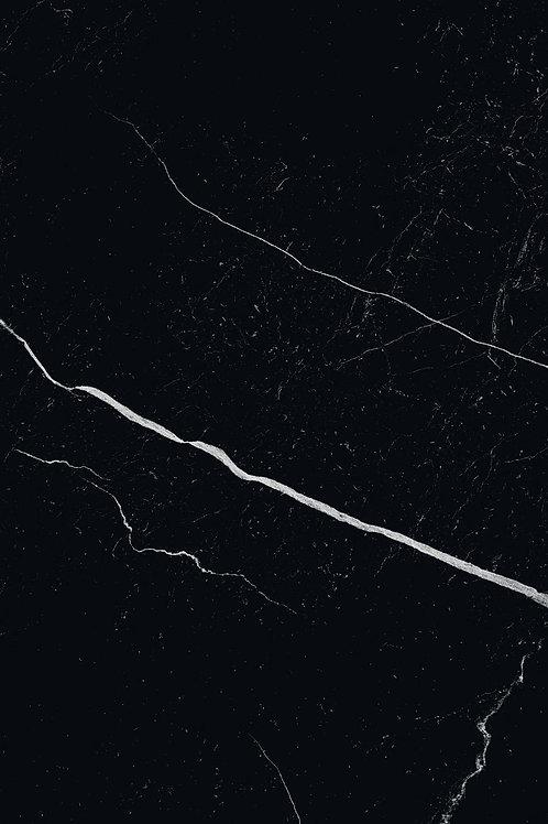 Керамогранит Mate Marmo Nero 30 × 60 см