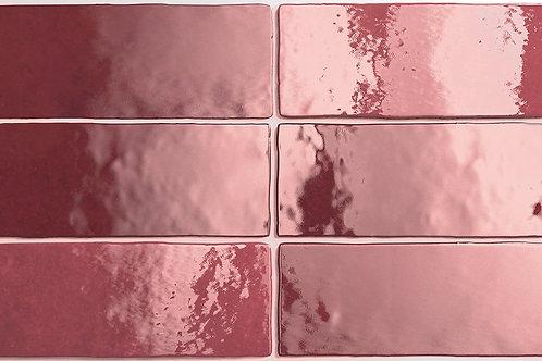 Керамогранит Artisan Burgundy 6,5 × 20 см