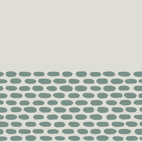 Керамогранит Tape Cobble half green 20,5 × 20,5 см