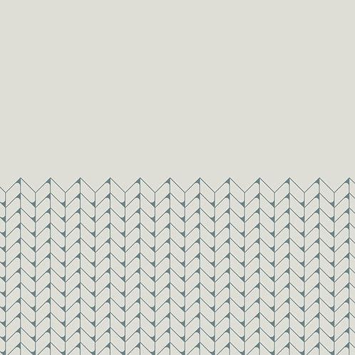 Керамогранит Tape Mesh half blue 20,5 × 20,5 см