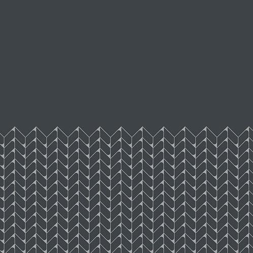 Керамогранит Tape Mesh half black 20,5 × 20,5 см